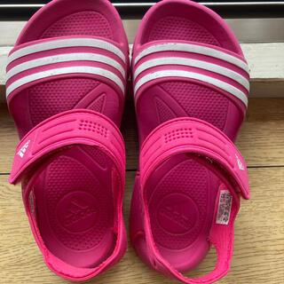 アディダス(adidas)のアディダスの春夏軽量サンダル!20センチ!プール水遊び(サンダル)
