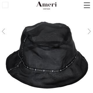 Ameri VINTAGE - AMERI シアーバケットハット新品タグ付き black
