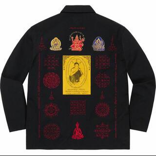 Supreme - supreme Blessings Ripstop Shirt 黒 s
