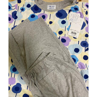 ウィング(Wing)のwing 婦人パジャマ半袖&8分丈ズボン Mサイズ 新品未使用(パジャマ)