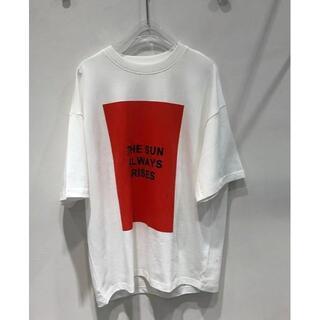 ジルサンダー(Jil Sander)のJILSANDERTシャツレッドL(Tシャツ/カットソー(半袖/袖なし))