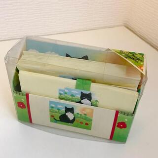 イギリス レターセット 黒ネコ(ノート/メモ帳/ふせん)