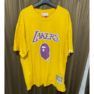 A BATHING APE - BAPE NBA LAKERS Tシャツ