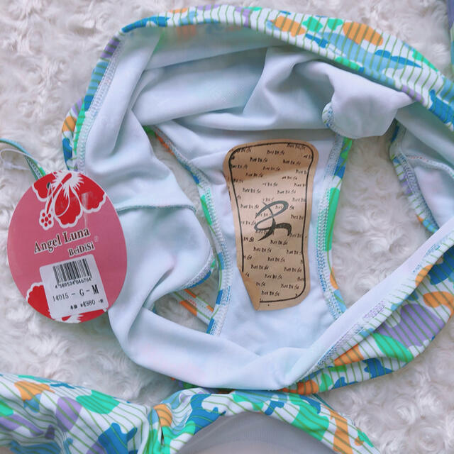Mサイズ 迷彩柄3点セット水着 レディースの水着/浴衣(水着)の商品写真