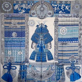 エルメス(Hermes)のHERMES エルメス カシシル カレジェアン カレ 140 侍の鎧兜(バンダナ/スカーフ)
