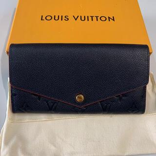 ルイヴィトン(LOUIS VUITTON)のポルトフォイユ・サラ アンプラント マリーンルージュ (財布)