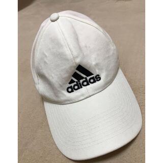 キャップ 帽子 KIDSフリーサイズ 白
