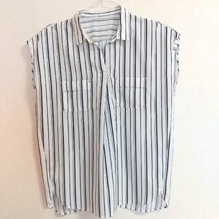 エニィスィス(anySiS)のanysisのストライプシャツ(シャツ/ブラウス(長袖/七分))