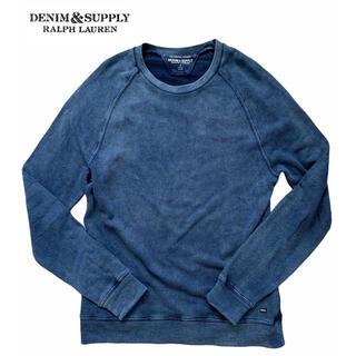 デニムアンドサプライラルフローレン(Denim & Supply Ralph Lauren)のDenim & Supply Ralph Lauren/インディゴ/スウェット(スウェット)