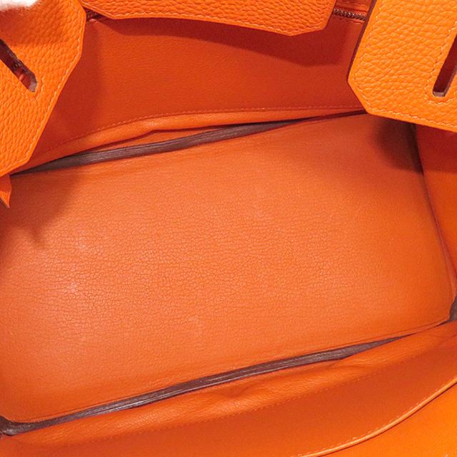 Hermes(エルメス)のエルメス  ハンドバッグ  バーキン30  □K刻印 オレンジ レディースのバッグ(ハンドバッグ)の商品写真