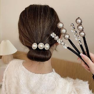 ヘアアクセサリー 髪留め まとめ髪 ヘアアクセ こなれヘア