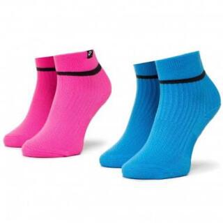 ナイキ(NIKE)のナイキ NIKE アンクル ソックス 靴下 SNKR マルチカラー 2足セット(ソックス)