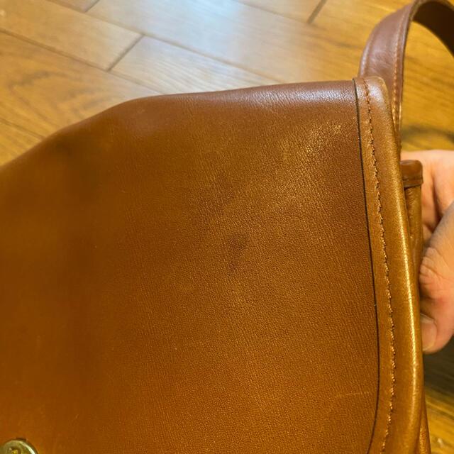 COACH(コーチ)のちゃん様専用 old coach レザーバッグ ショルダーバッグ レディースのバッグ(ショルダーバッグ)の商品写真