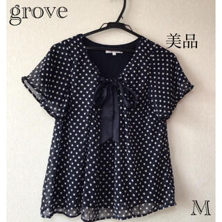 グローブ(grove)の⭐︎美品⭐︎grove トップス sizeM(カットソー(半袖/袖なし))