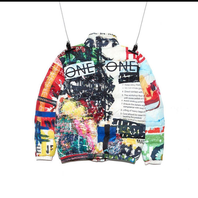 PEACEMINUSONE(ピースマイナスワン)のpeaceminusone ダウンジャケット メンズのジャケット/アウター(ダウンジャケット)の商品写真
