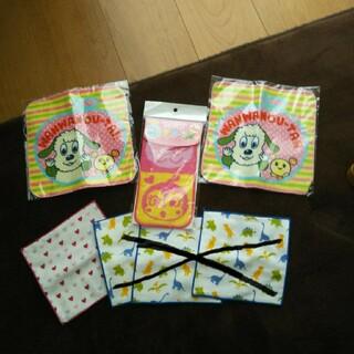 アンパンマン(アンパンマン)の新品 プチタオル4枚セット 幼稚園 保育園(タオル)