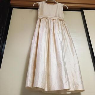 ボンポワン(Bonpoint)のボンポワン シルク ワンピース bonpoint 10y ボンポアン(ドレス/フォーマル)
