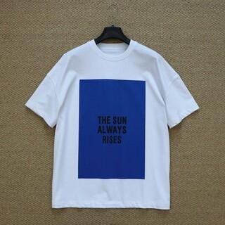 Jil Sander - 【白+青XL】2枚で9800円です新品 JIL SANDER  Tシャツ