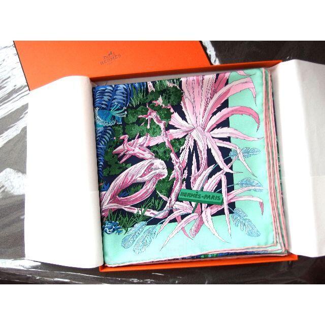 Hermes(エルメス)の【専用出品】エルメス スカーフ Jardin a Sintraー「シントラの庭」 レディースのファッション小物(バンダナ/スカーフ)の商品写真