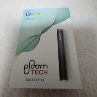 プルームテック(PloomTECH)のPloom TECH プルームテックバッテリー1.5 黒・新LED搭載新品未開封(タバコグッズ)