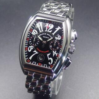 フランクミュラー(FRANCK MULLER)の定価350万 美品 フランクミュラー コンキスタドール クロノグラフ 8005(腕時計(アナログ))