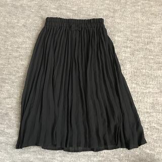 ジーユー(GU)のGUプリーツシフォンスカート(スカート)