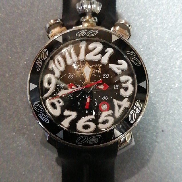 GaGa MILANO(ガガミラノ)の【ジャンク・格安】ガガミラノ クロノ メンズの時計(腕時計(アナログ))の商品写真
