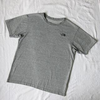 THE NORTH FACE - 日本製!THE NORTH FACE Tシャツ L グレー アウトドア 半袖