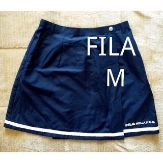 FILA - FILA フィラ テニス スコート ネイビー
