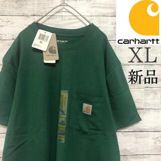 carhartt - 【新品】×【XL】希少サイズ カーハート Tシャツ 半袖 緑 グリーン 春 夏