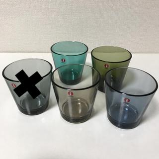 イッタラ(iittala)の新品☆イッタラ カルティオ  タンブラー 4点(グラス/カップ)