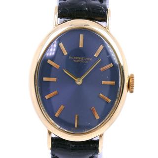 インターナショナルウォッチカンパニー(IWC)のアイダブリューシー シャフハウゼン K18ホワイトゴールド レザー(腕時計)