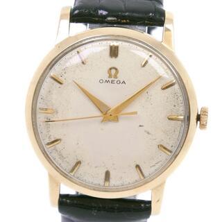 オメガ(OMEGA)のアナログ表示オメガ アンティーク  cal.284   K18イエローゴールド(腕時計(アナログ))