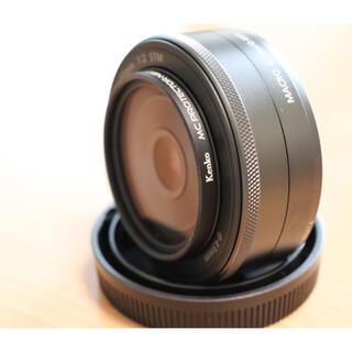 キヤノン(Canon)のCanon EF-M 22mm F2 STM ブラック(レンズ(単焦点))