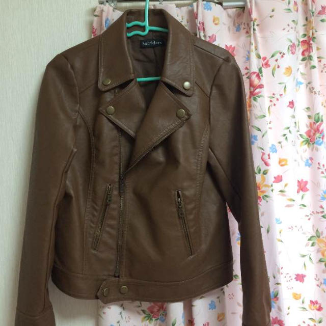 しまむら(シマムラ)の美品♡ライダース レディースのジャケット/アウター(ライダースジャケット)の商品写真