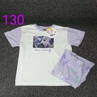 しまむら - 【新品】鬼滅の刃 胡蝶しのぶ パジャマ 半袖 130