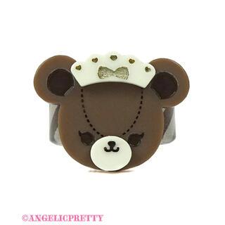 アンジェリックプリティー(Angelic Pretty)のBear's Chocolaterieカフェリング(リング(指輪))