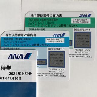 ANA 株主優待券 2枚♪(航空券)