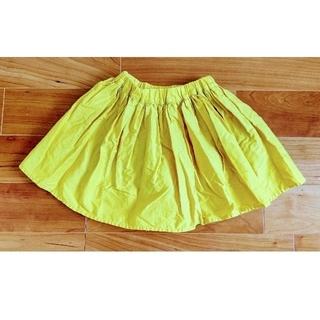 グローバルワーク(GLOBAL WORK)の黄色のフレアスカート(スカート)