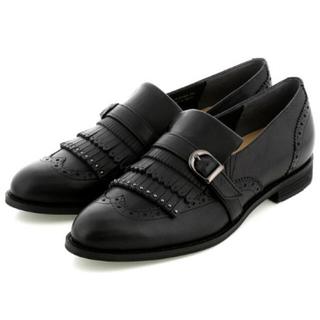 イング(ing)のing ウイングチップキルトシューズ 22.5(ローファー/革靴)