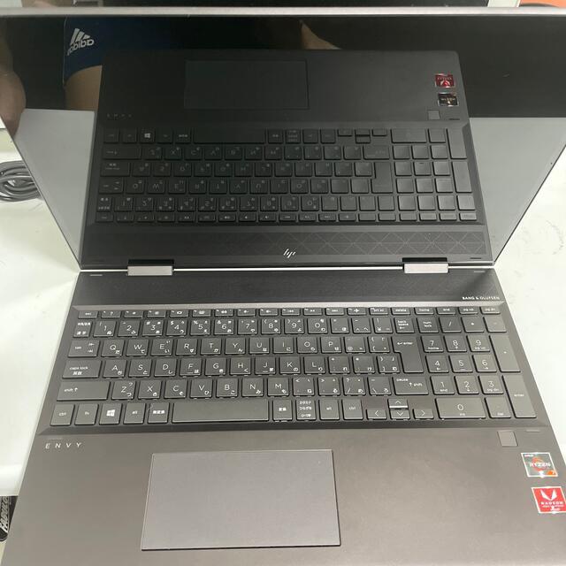 HP(ヒューレットパッカード)のRyzen7 HP ENVY x360 15ノートパソコン office付き スマホ/家電/カメラのPC/タブレット(ノートPC)の商品写真