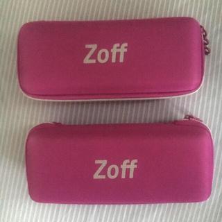 ゾフ(Zoff)のZoff  メガネケース 2点(サングラス/メガネ)
