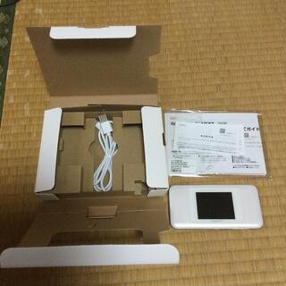 ファーウェイ(HUAWEI)のSpeed Wi-Fi NEXT W06 ホワイトシルバー(PC周辺機器)