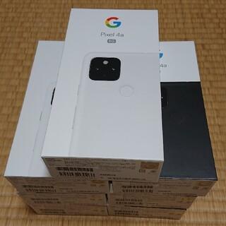 Google Pixel - 【7台セット】Google Pixel4a 5G 128GB