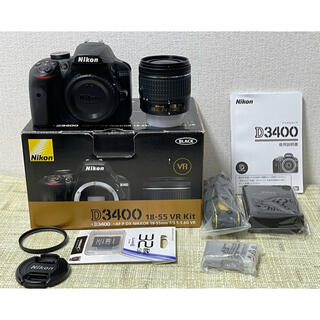 Nikon - NiKON ニコンD3400レンズキット Bluetooth内蔵