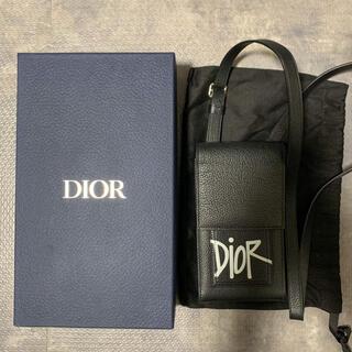 Dior - Dior Shawn フォンケース カーフスキン 新品・未使用