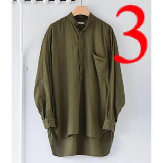 COMOLI - comoli 21ss ベタシャンプルオーバーシャツ コモリ size3