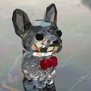 スワロフスキー『フレンチブルドッグ』 犬  イヌ  ラブロッツ  訳あり(置物)