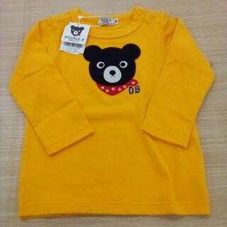ダブルビー(DOUBLE.B)の新品未使用 ダブルビー 長袖 Tシャツ 80cm 02MN0515860(Tシャツ)