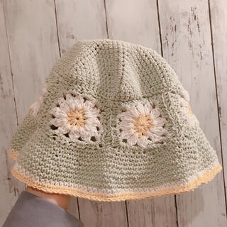 Lochie - handmade flower backet hat